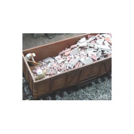 Juweela Bouwrommel Grijs/Rood 150 gram